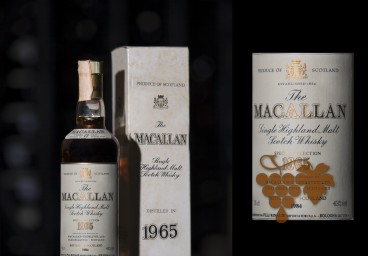 Macallan 1965 Rinaldi import