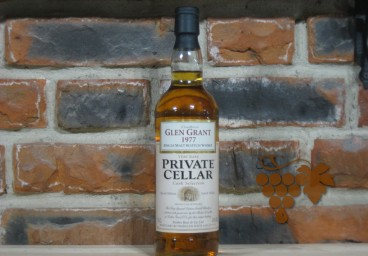 Glen Grant 1977 private cellar